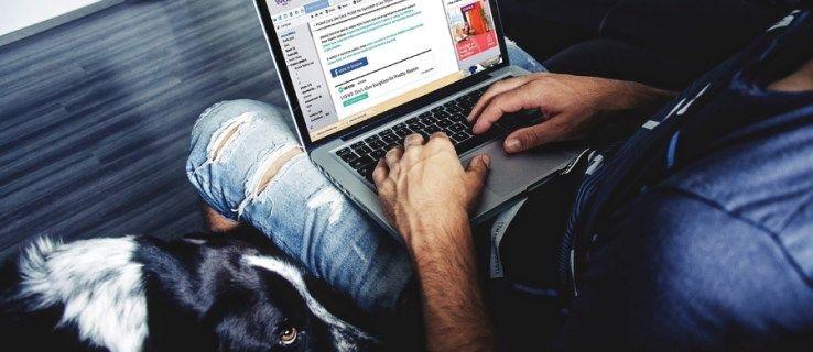 Jak odesílat nebo přeposílat zprávy z Facebooku na e-mail