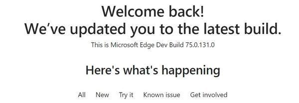 Pembaruan Microsoft Edge Chromium sekarang ada di Saluran Dev, Menampilkan Build 32-bit, dan banyak lagi
