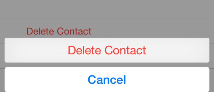 Как да изтрия всички контакти на iPhone [април 2020]