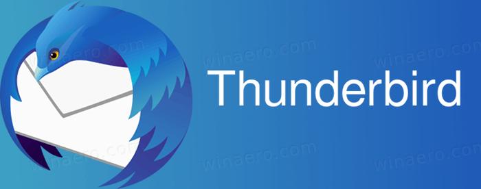 Thunderbird 78 est maintenant disponible comme option de mise à niveau pour les utilisateurs de Thunderbird 68