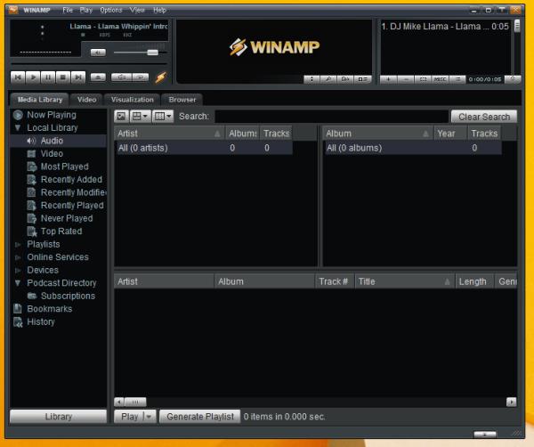 Préparez-vous bientôt à essayer Winamp 5.8 Beta