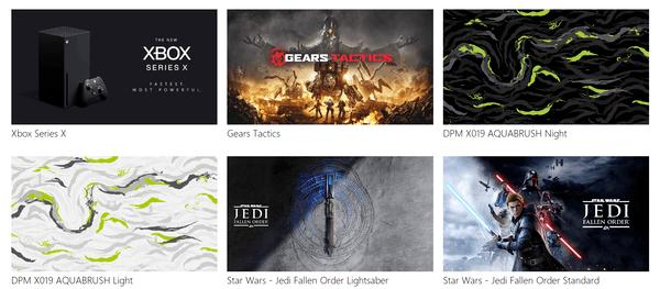 Des fonds d'écran sur le thème Xbox X sont disponibles au téléchargement auprès de Microsoft