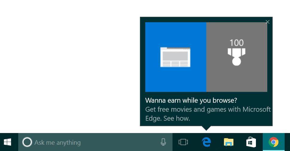Отключить советы по Windows 10