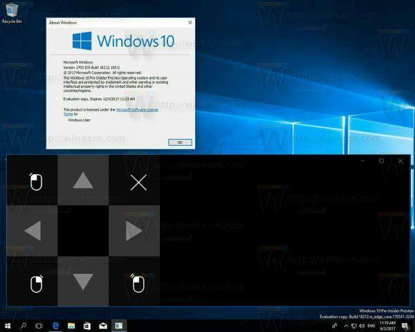 Nová dotyková klávesnica v aktualizácii Windows 10 Fall Creators Update