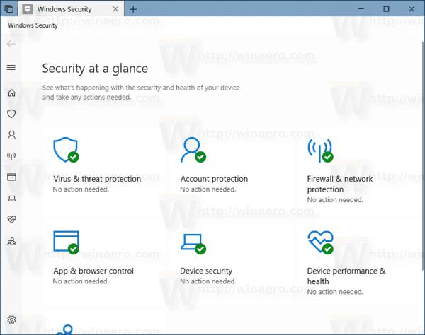 Windows10でWindowsセキュリティトレイアイコンを非表示にする