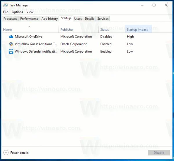 Zmeňte rýchlosť aktualizácie údajov pre Správcu úloh v systéme Windows 10