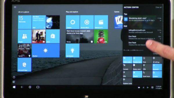 Comment désactiver les balayages de bord de l'écran tactile dans Windows 10