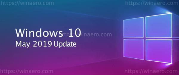 Microsoft najavio ažuriranje sustava Windows od 10. svibnja 2019