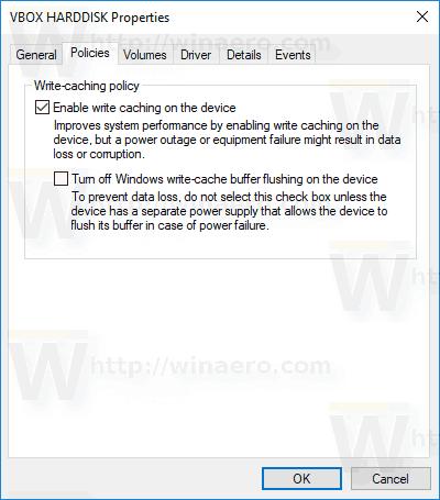 Aktifkan Tulis Melalui Di Windows 10 Untuk Transfer Data Jaringan yang Andal