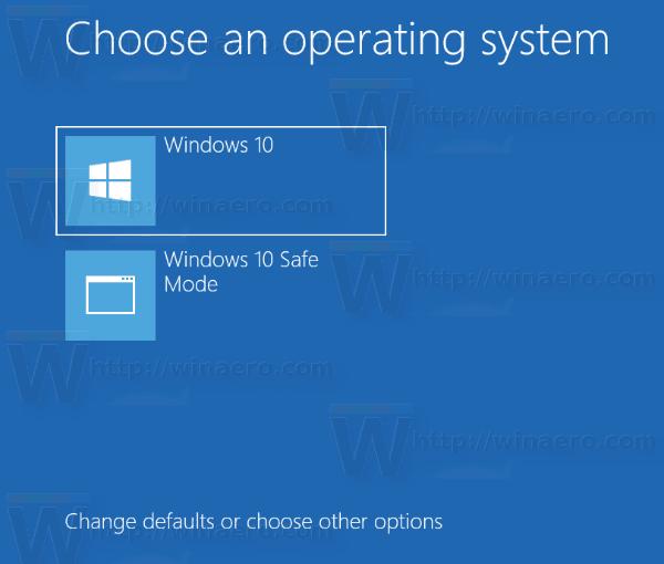 Как да промените времето за изчакване на менюто за стартиране в Windows 10