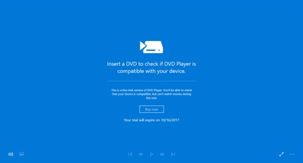 Lire des DVD gratuitement sous Windows 10