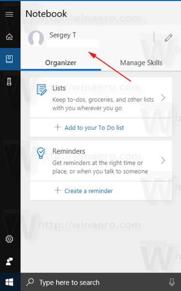 Se déconnecter de Cortana dans Windows 10