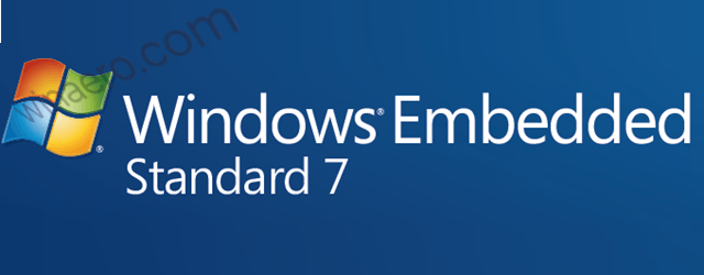 Windows 7 ugrađeni standardni logotip natpisa