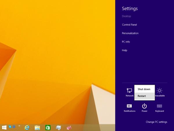 Ako získať prístup k možnostiam obnovenia systému v systéme Windows 8