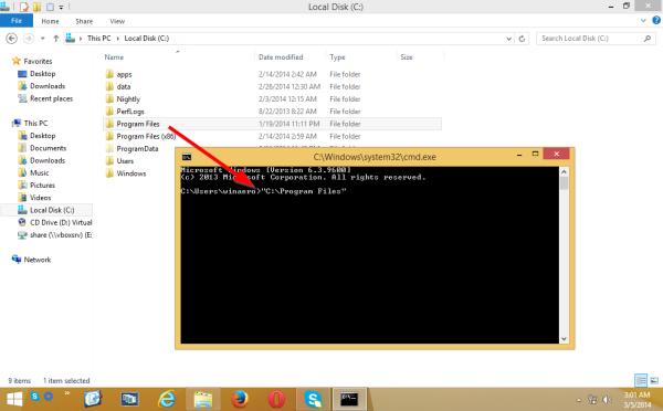 [Astuce] Collez rapidement le chemin d'un fichier ou d'un dossier dans l'invite de commande